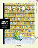 New York Puzzle Company - New Yorker Shelved - 750 Piece Jigsaw Puzzle