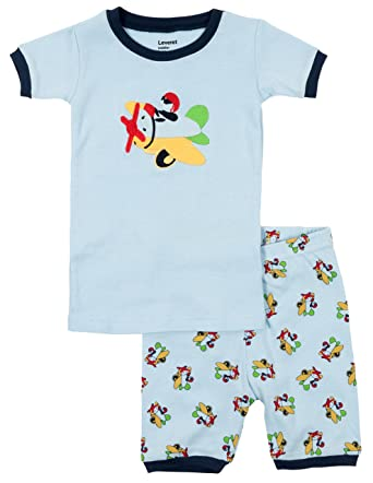 511dbcbcd Amazon.com  Leveret Kids   Toddler Pajamas Boys Shorts 2 Piece Pjs ...
