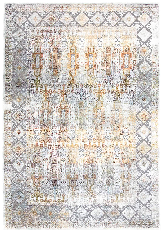 CarpetFine  Vintage Heaven Teppich 200x290 cm Blau - Vintage