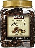 Kirkland Signature Milk Chocolate Roasted Almonds 3 LBS