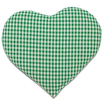 Cojín de semillas de grosellas en forma de corazón aprox ...