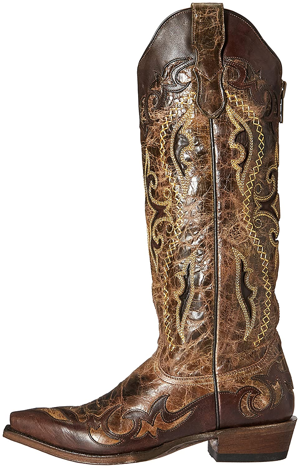 Stetson Boot Women's Vivi Snip Work Boot Stetson B01D3PLIKY 9.5 D US|Brown fcb666