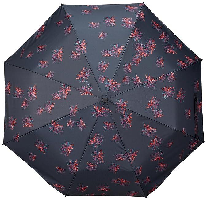 Paraguas Bloomstar Desigual Talla: U Color: NEGRO: Amazon.es: Zapatos y complementos