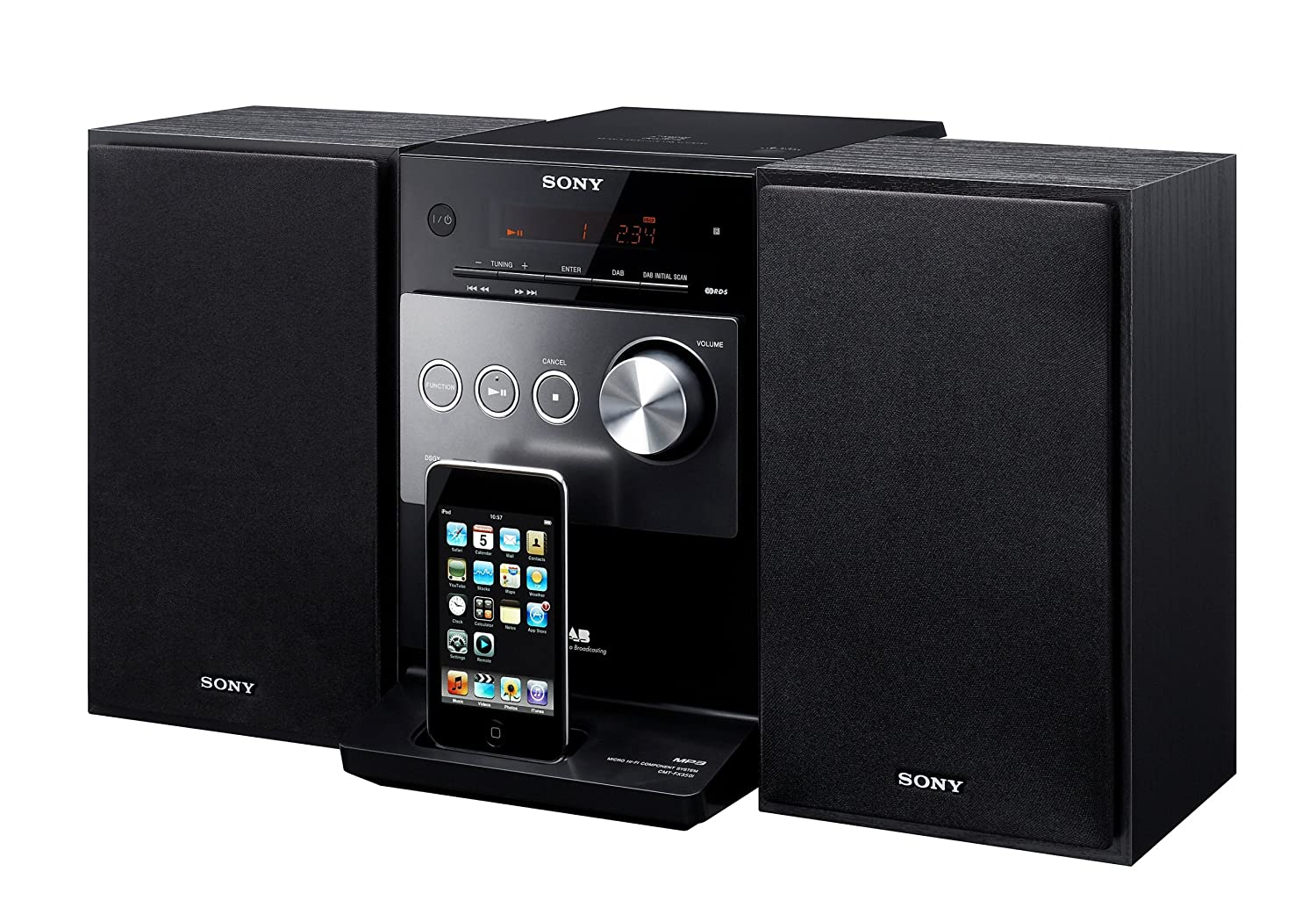 sony cmtfx300 ipod docking micro system hifi light scratches ebay. Black Bedroom Furniture Sets. Home Design Ideas