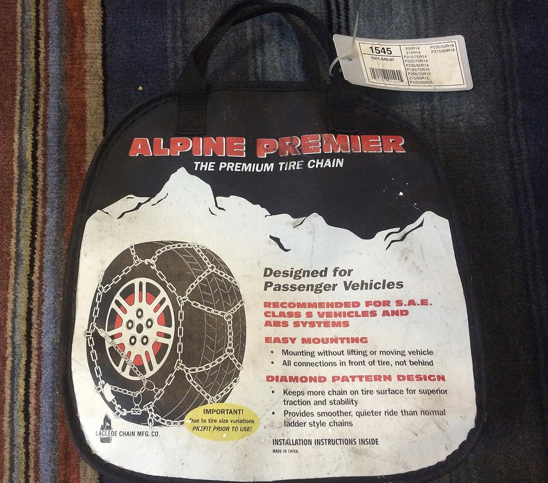 Laclede Chain 7021 545 07 Alpine Premier Passenger Car Tire Chains