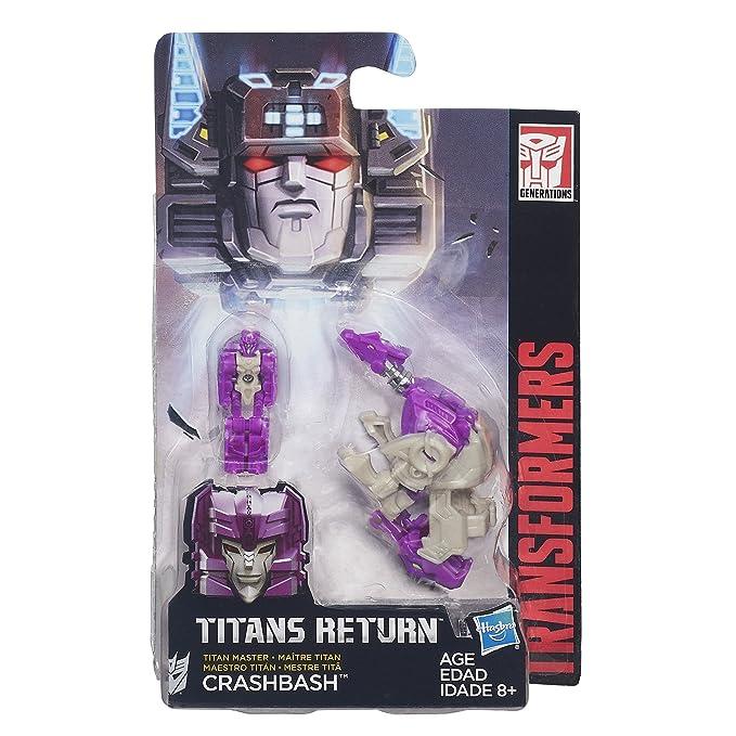 Transformers Juguetes, color purple, grey (Hasbro B4700AS0): Amazon.es: Juguetes y juegos