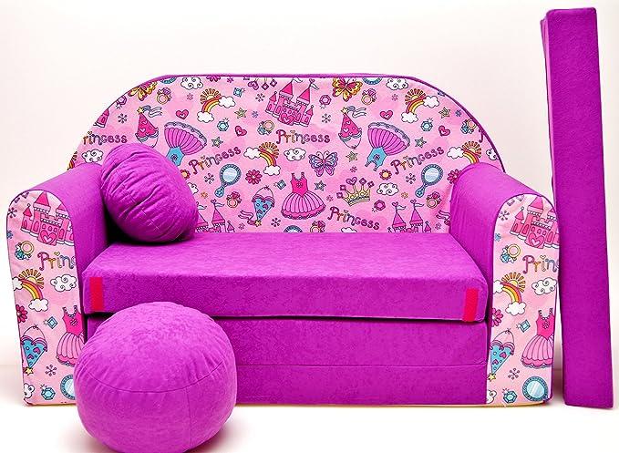 Sofá infantil, sofá de juego, minisofá de espuma, sillón ...