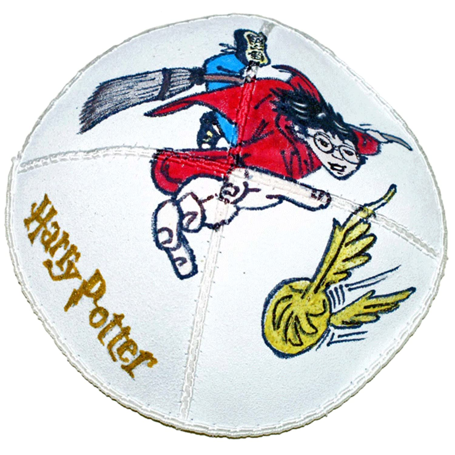 Hand-painted Kippah (Yarmulke) with Harry Potter - 1