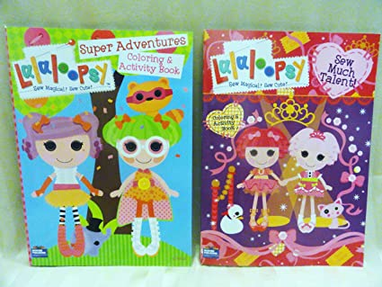 Amazon.com: Lalaloopsy Coloring & Activity Books: Toys & Games
