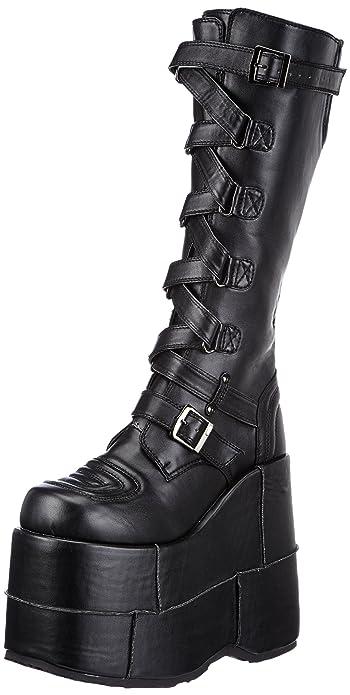 b1d14f993cc Pleaser Men s Stack-308 Platform Boots