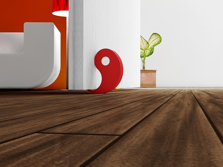 rot FLUX T/ür-//Fensterstopper 2er Set erh/ältlich in 5 Farben