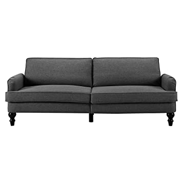 Amazon.com: Sofas 2 Go Charleston Convertible Sofa One Size ...