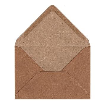 Sobres de papel de estraza formato C6 de 110 g/m² para ...