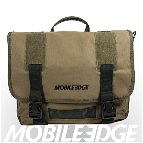 54c5f213a07b Amazon.com  Mobile Edge Olive Green Chromebook Laptop Eco Messenger ...