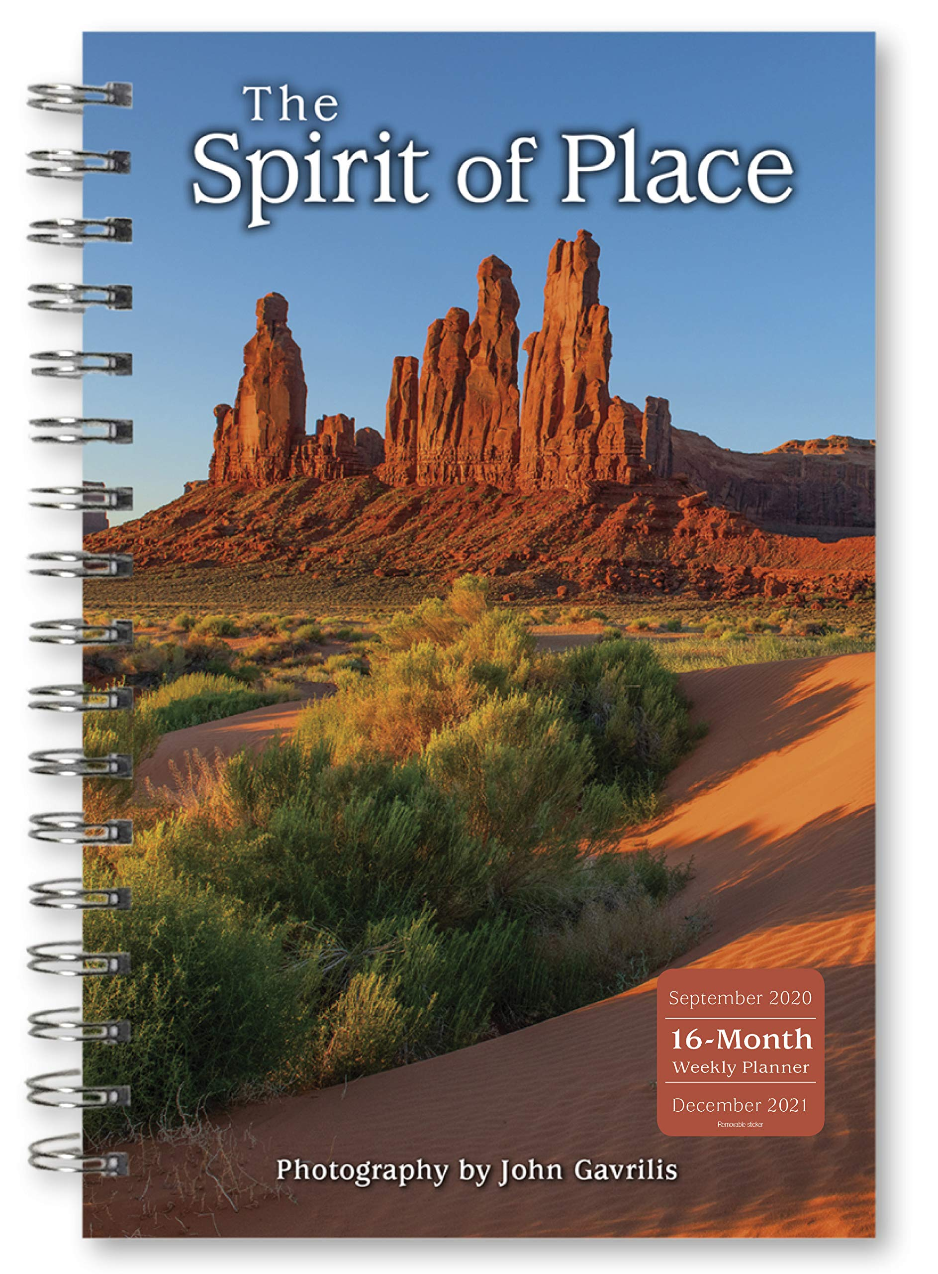 Image for 2021 The Spirit of Place 16-Month Weekly Planner