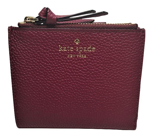 cd9a0069e7b ... promo code for kate spade small malea mulberry street leather wallet  wlru3075 rioja wine color a533e