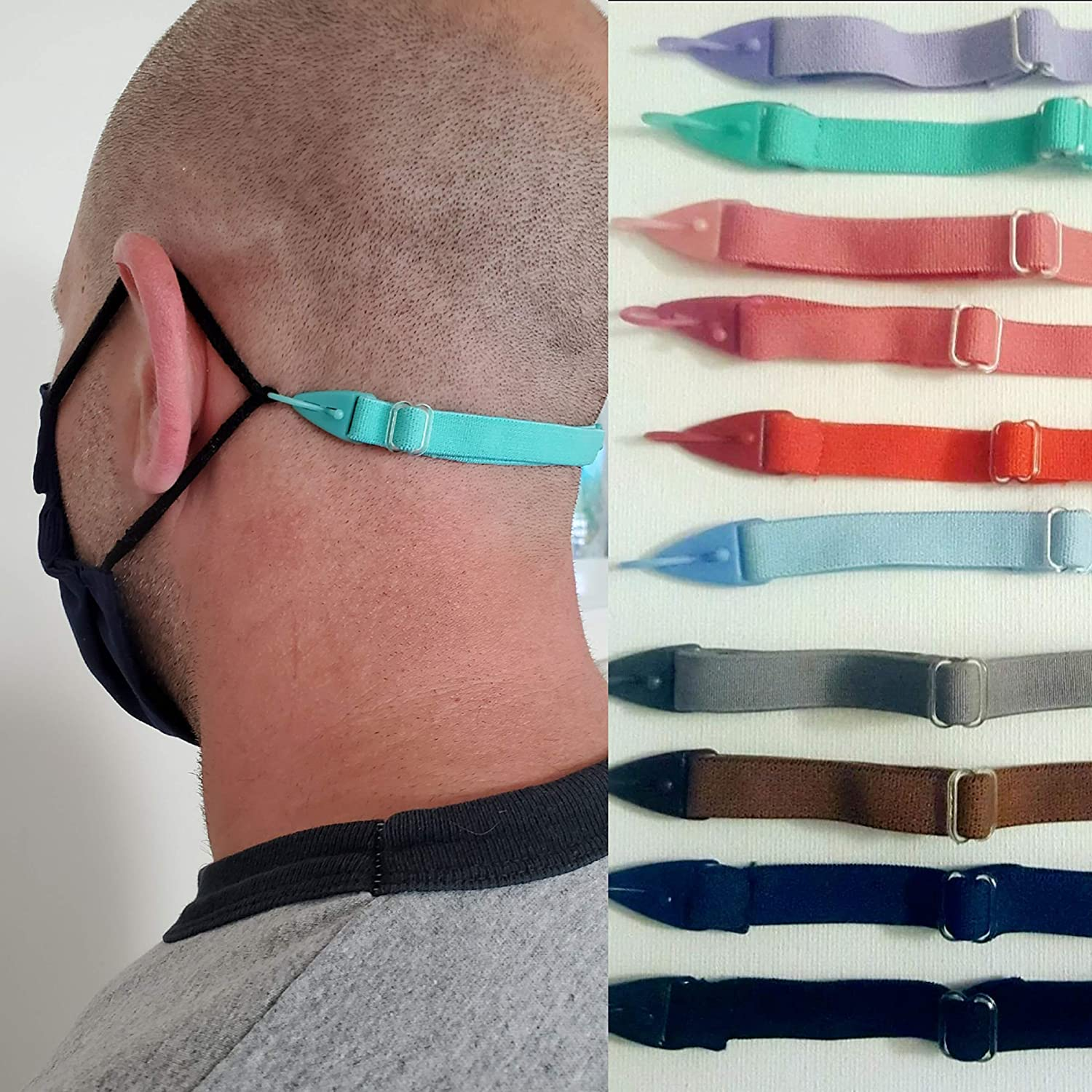 Amazon Com Face Mask Strap For Kids Or Adults Same Day