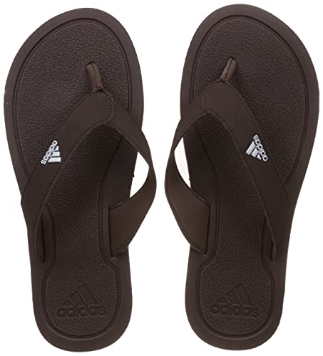 39c97f71e3ba Adidas Men s Stabile Earth White Flip-Flops and House Slippers - 6 ...