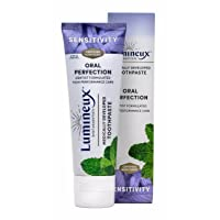 Lumineux Oral Essentials Toothpaste for Sensitivity Relief | Fluoride Free, Certified...