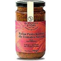 Delicious & Sons Salsa Pesto Rosso Ecológica 190g