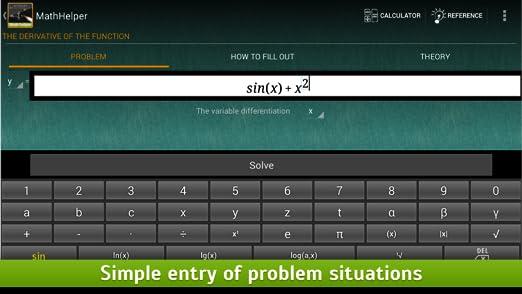 Amazon.com: Math Helper: Algebra & Calculus: Appstore for Android