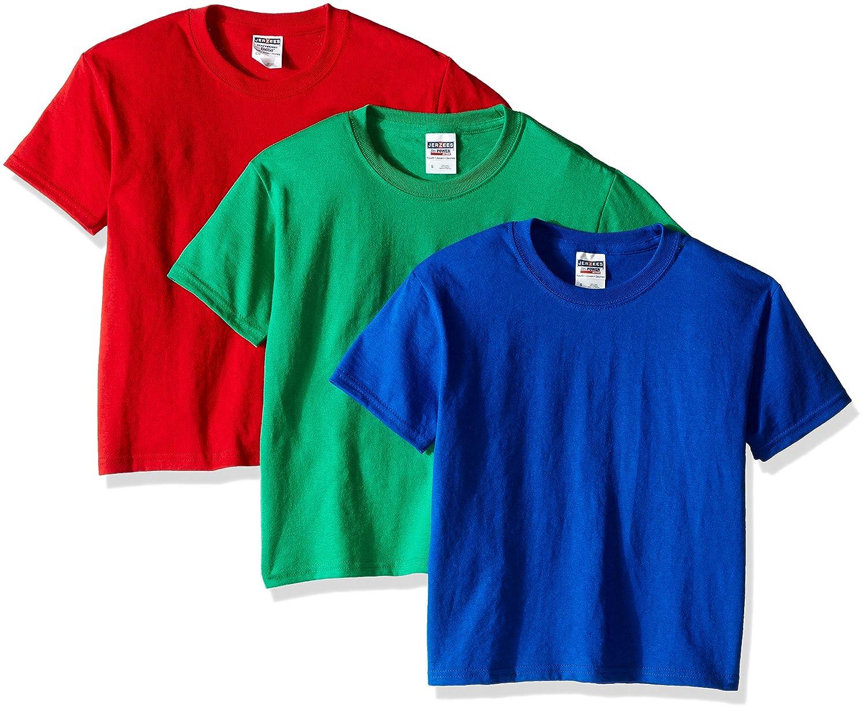 Jerzees SHIRT ボーイズ B01I5F40BQ M Royal/True Red/Kelly Royal/True Red/Kelly M