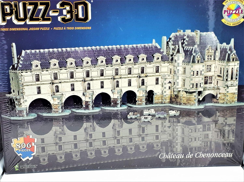 Puzzle 3D Chateau de Chenonceau: Amazon.es: Juguetes y juegos