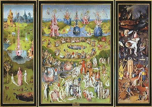 Hieronymus Bosch: el jardín de las delicias. Fine Art Print/Póster. Tamaño A1: Amazon.es: Hogar