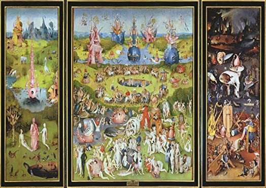 Hieronymus Bosch: The Garden Of Earthly Delights. Fine Art Print/Poster.  Size