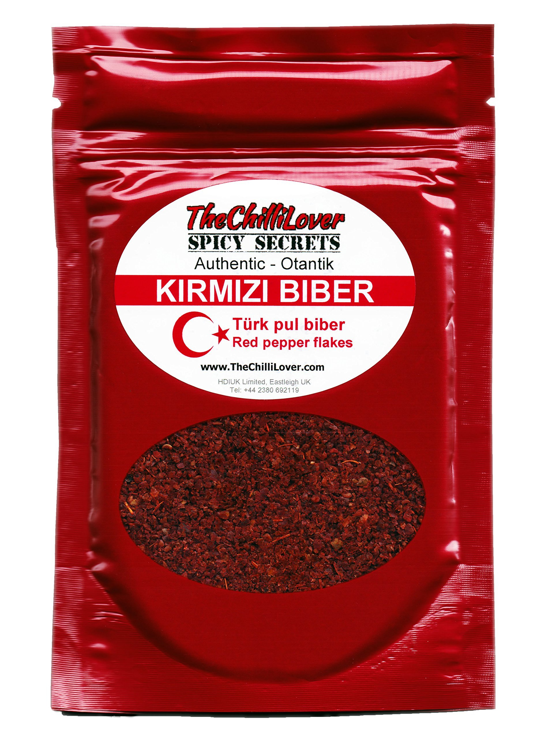 TheChilliLover Pouches of Turk Kirmizibiber, Authentic Spice For Cooking, Seasoning Food