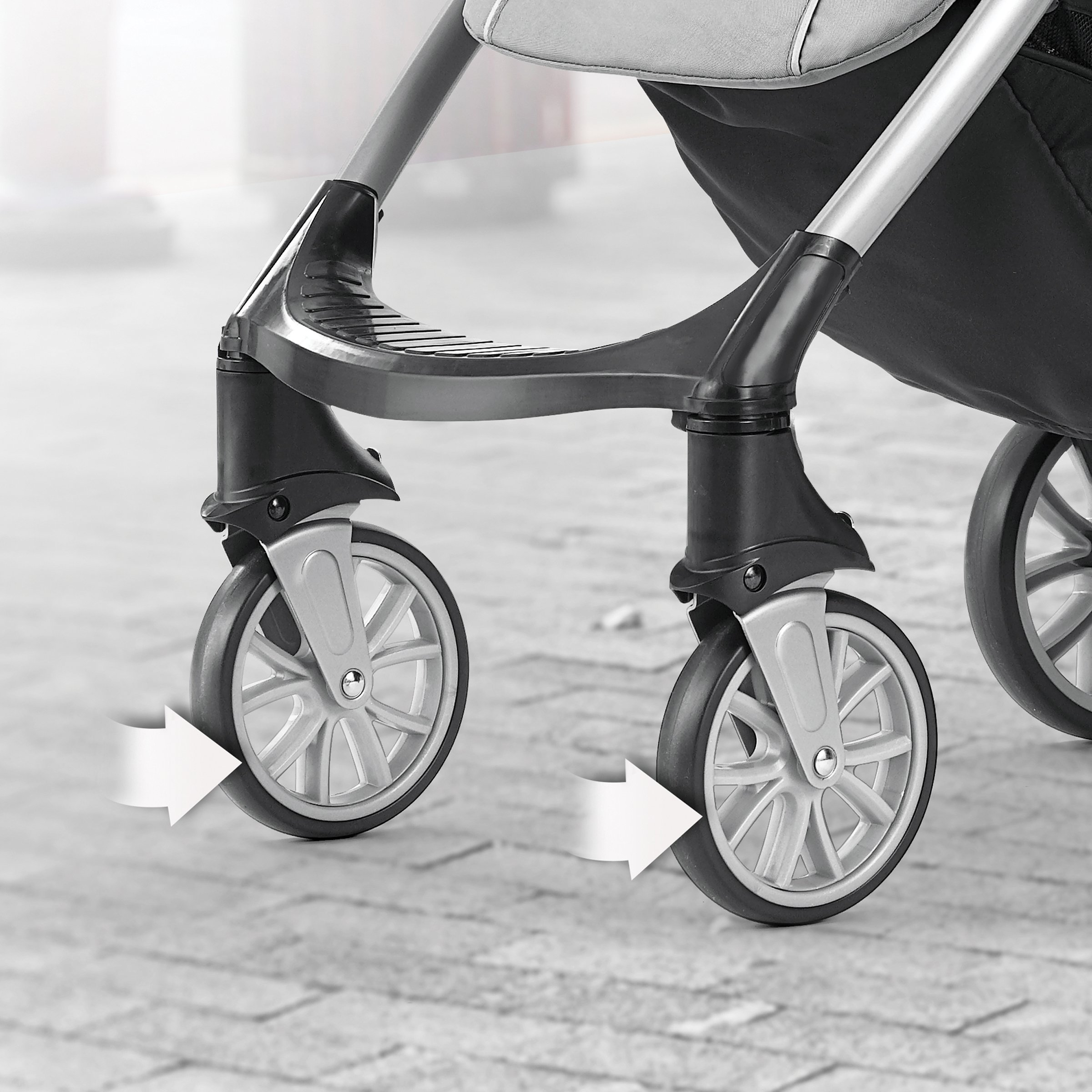 Chicco Mini Bravo Lightweight Stroller, Mulberry by Chicco (Image #7)