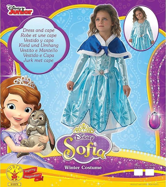 Rubie´s Winter Sofia The First Girls Fancy Dress Kids Childrens ...