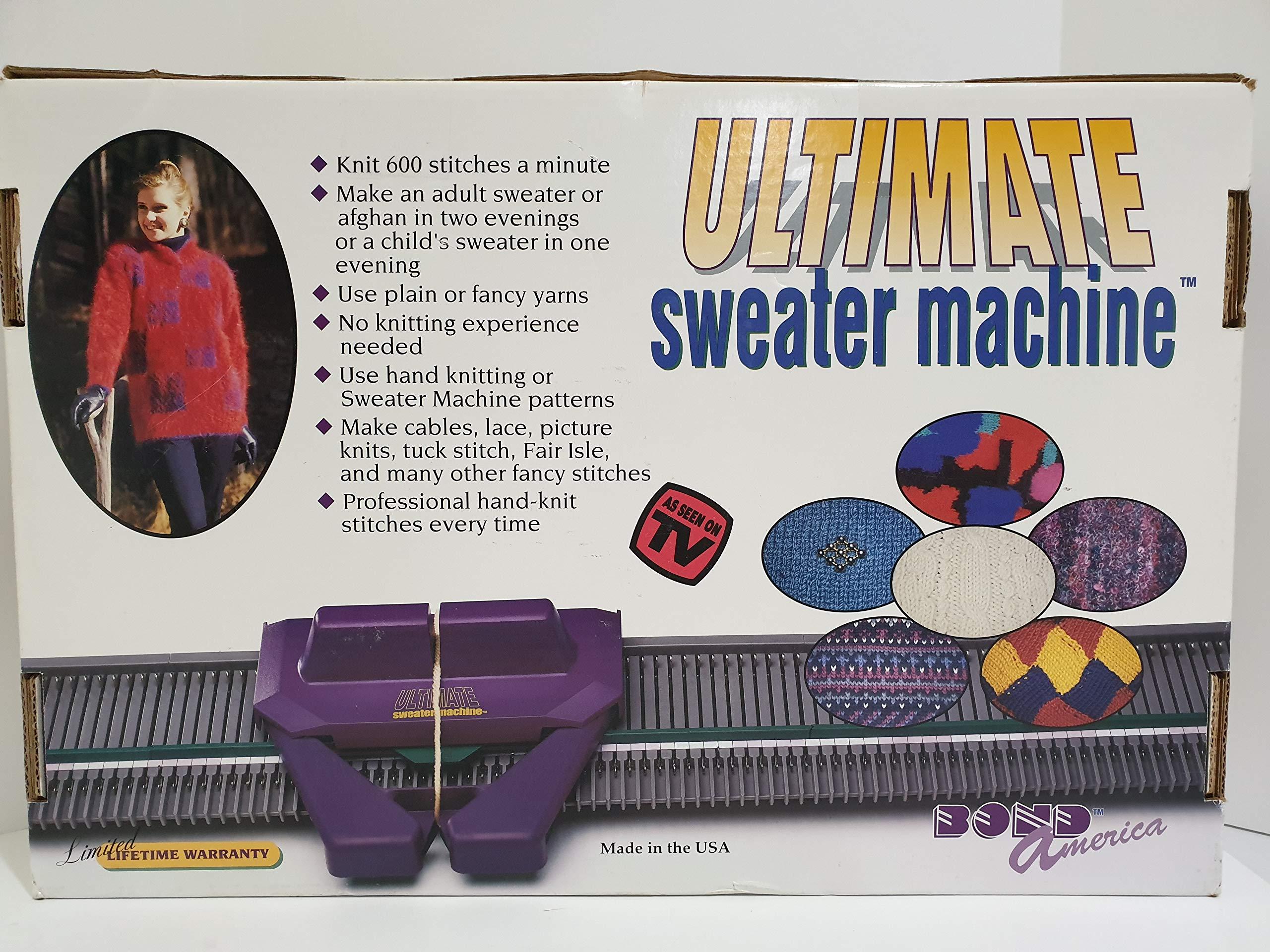Bond America Ultimate Sweater Machine Knitting Machine by Bond America (Image #2)