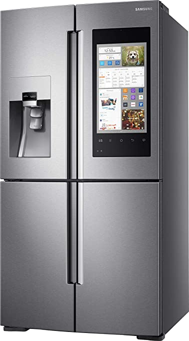 Samsung RF56M9540SR Integrado 550L A+ Acero inoxidable nevera y congelador - Frigorífico (550 L, Antiescarcha (nevera), ST-T, 12 kg/24h, A+, ...