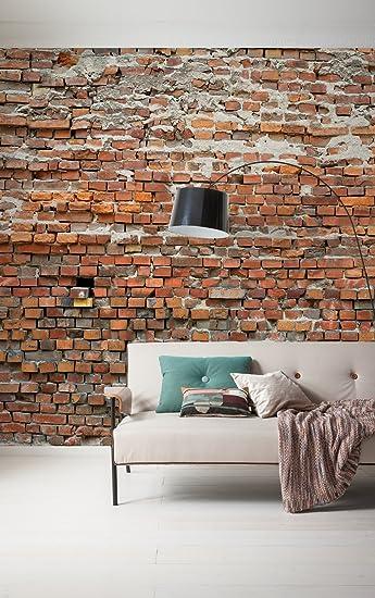 Komar Fleece Fotobehang Bricklane 300x250cm Behang Muur Decoratie Bakstenen Wand Stenen Muur Look 025 Dv3 Amazon Nl Klussen Gereedschap