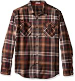 Gramicci Men's Burner Flannel Shirt, Havana Coffee, XX-Large
