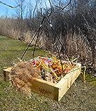 Nature's Way Bird Products CWF3 Cedar Platform Tray Bird Feeder, Beige