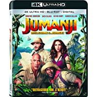 Jumanji: Welcome To The Jungle 4K UHD Deals