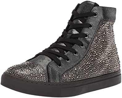 587814c950e Steve Madden Men's Crescent Grey Satin Sneaker 11 US: Amazon.co.uk ...