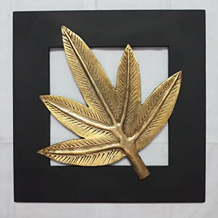 Aalokik Art Prince Leaf Wall Art