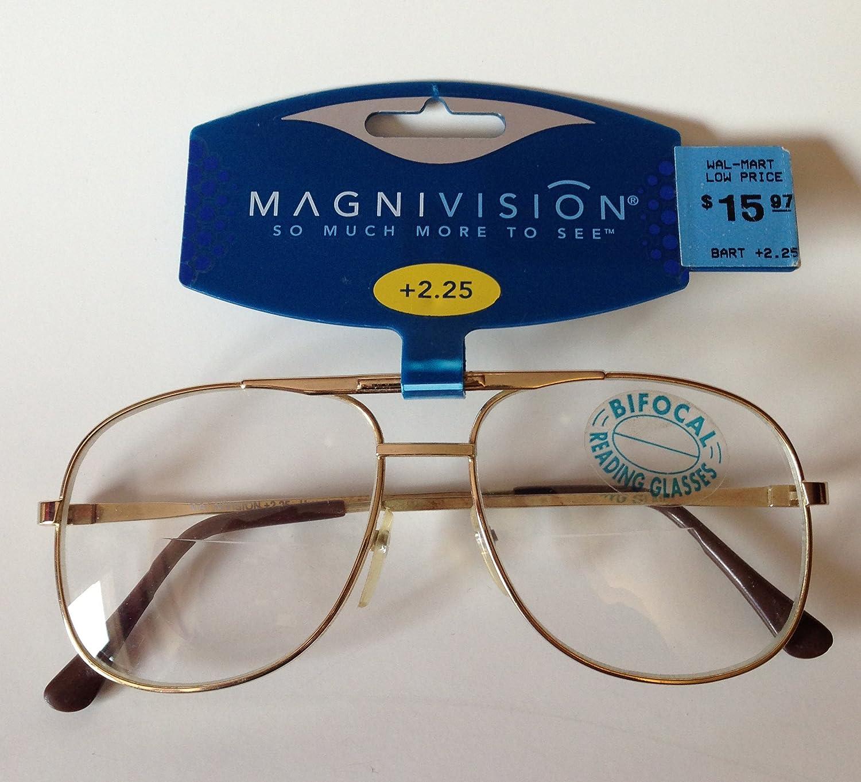 7f0ec98140 Amazon.com  MAGNIVISION BIFOCAL READING GLASSES +2.25 MSRP WAL-MART  15.97  NEW  Health   Personal Care