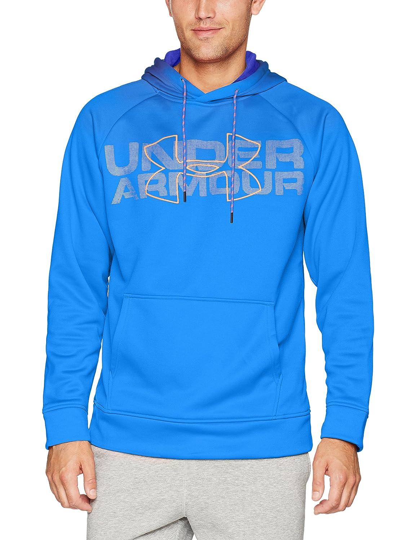 Under Armour AF Graphic Po Sudadera, Hombre, Azul, XL