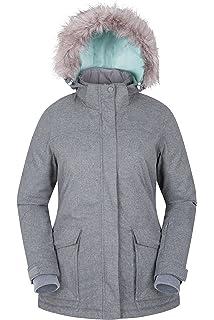 e37edb39525 Mountain Warehouse Monte Rosa Womens Ski Jacket - Winter Padded Coat ...