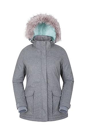 Manteau gris СЃР° capuche femme