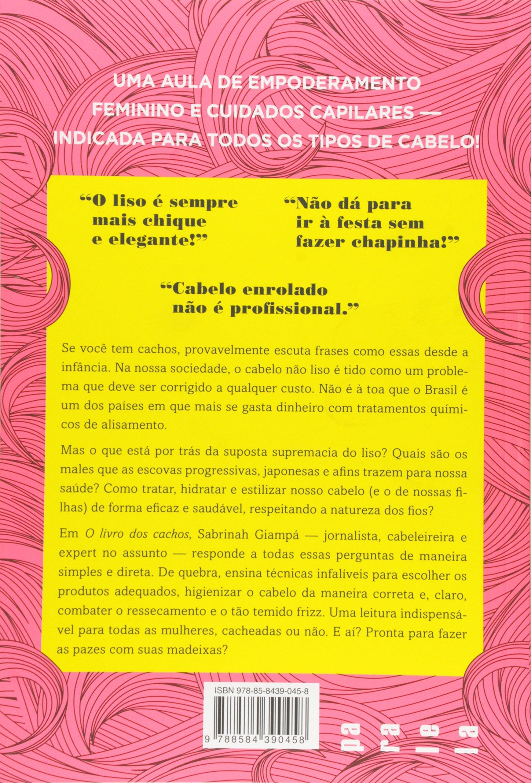 Livro Dos Cachos Sabrinah Giampa Amazoncommx Libros
