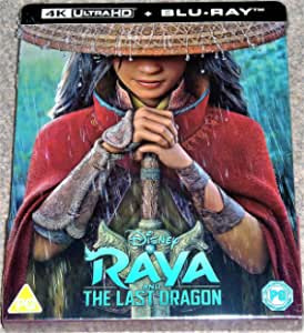RAYA AND THE LAST DRAGON 4K ULTRA HD COLLECTORS LIMITED EDITION STEELBOOK / REGION FREE / INCLUDES BLU RAY