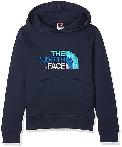 The North Face Y Drew Peak Po HDY Sudadera, Niños, Azul Mar, XS