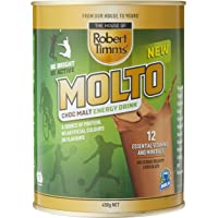 Robert Timms Molto Choc Malt Energy Drink, 450 g