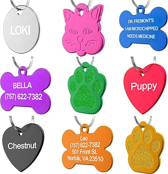Cat Tag Metroid Mother Brain *Inspired* Dog tag Pet Tag Pet ID Tag