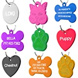 Dr. Fremont's Pet ID Tag Custom for Dog Cat Personalized | Many Shapes and Colors to Choose from | Made in USA | Strong…